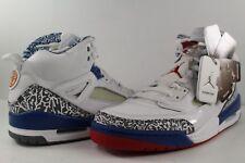 Nike Air Jordan Spizike True Blue White Varsity Red Size 9