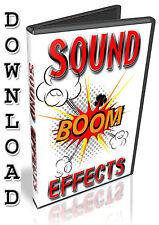 SOUND FX - REASON REFILL-  FRUITY LOOPS - NUENDO - CUBASE - FL STUDIO - ABLETON