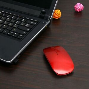 1600 DPI USB Optical Wireless Computer Laptop Mouse 2.4G Slim Gaming Mouse Mice