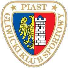 "GKS Piast Gliwice FC Poland Football Soccer Car Bumper Sticker Decal 4""X5"""