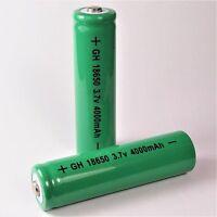 2 x GH grün 4000 mAh Lithium Ionen Akku 3,7 V / GH 18650 Li  - ion