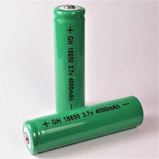 2 x GH verde 4000 mAh de iones de litio Batería 3,7 V/gh 18650 Li-ion