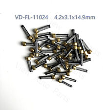 50pcs Fuel injector micro filter  top feed mpi auto parts  Size 4.2x3.1x14.9mm