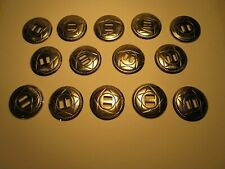 Large Lot of 14  MATCHED CONCHOS  Western Star Style -$5Sh