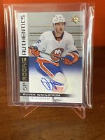 Oliver Wahlstrom 🔥Rookie Authentics AUTO 2019-20 SP Authentic ISLANDERS RC