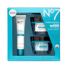 No7 Protect And Perfect Intense Advanced 1 x Day, Night Cream 50ml Serum 30ml