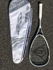 Dunlop M-Fil Ultra 135 Squash Racket w/Power Rib Throat 140g 500cm RA:78 Stiff