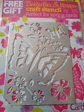 Butterflies & Blossom Craft Stencil