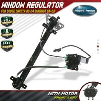 Power Window Regulator w/ Motor for Dodge Dakota 00-04 Durango 98-03 Front Left