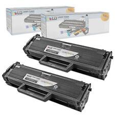 LD © Fits Samsung MLT-D101S Set of 2 Black Laser Toner Cartridges