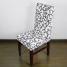 Jacquard Printed Thickening Stretch Brief Chair Cover Half Chair Covers XC