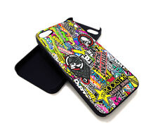 MX Raiders Metal Mulisha Stickerbomb Rockstar JDM Case for iPhone 4 5 6 7