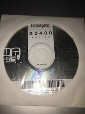 lexmark x2400 series disc