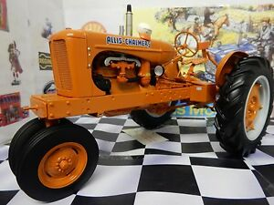 Franklin Mint Allis Chambers WC Tractor Die-Cast Replica 1:12 New.with gloves!