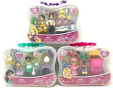 (3) Disney Princess Little Kingdom Rapunzel & Eugene Jasmine Aurora SEALED NIP