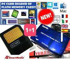 16MB Smartmedia Card+Lettore Memorie-KORG-Roland-Yamaha-Audiovox-Galileo-Singer