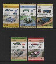 TUVALU (NUKUFETAU) 1984 LEADERS OF THE WORLD AUTOMOBILES (1st) *VF MNH*