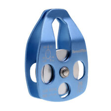 32Kn Rock Climbing Pulley Single Sheave for Rope 15mm Tree Arborist Rigging