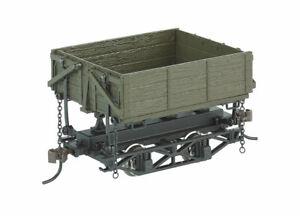 Bachmann - Wood Side-Dump Car 3-Pack - Ready to Run - Spectrum® -- Green - On30