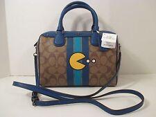 COACH Signature PACMAN Mini Bennett Crossbody Shoulder Bag Purse F56648~$325