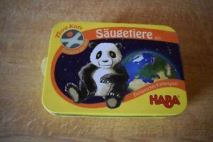 Ein Tierisches Kartenspiel Säugetiere 4525 HABA