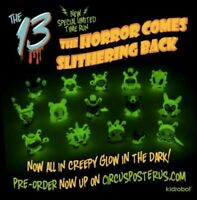 "GID ""The Horror Comes Slithering Back"" Blind Box Kidrobot x Brandt Peters The 13"