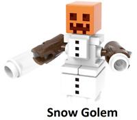 New Minifigure Rare Custom Lego Mooshroom New Version Minecraft Movie Video Game