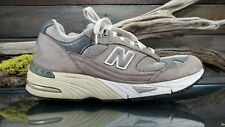 New Balance 991 USA Mens Sz 8 D Running Athletic Gray Leather Walking Shoes GUC