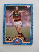 Adelaide Crows Football Club Tony McGuinnes AFL Hyfibe Heroes 1996 Select Card