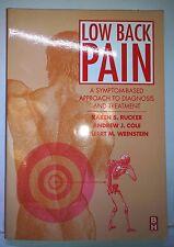 Low Back Pain, Rucker et al., 2001, Butterworth / Heinmann - Like New