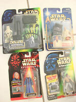 Kenner Hasbro Lot of 4 NIB Star Wars sets action figures Snowtrooper Valorum++