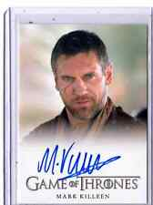 Game of Thrones  season 3  Mark Killeen autograph card #1