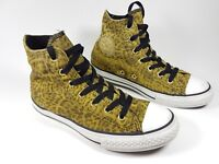 Converse All Star childrens Leather hi top trainers uk 2 eu 34 super condition