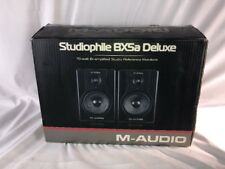 M-Audio Bx5a Studiophile Deluxe Studio Reference Monitor Speakers *Parts*