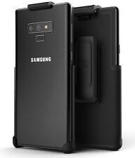 Encased Samsung Galaxy Note 9 Belt Clip Holster - Secure Fit Case Free Design
