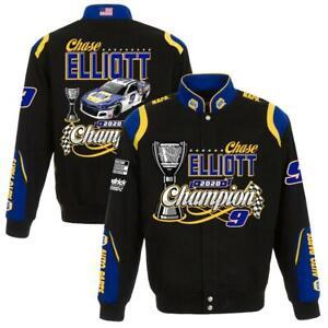 Chase Elliott JH Design 2020 NASCAR Cup Series Champion Twill Jacket