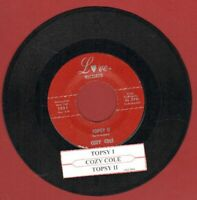 Cole, Cozy - Topsy (Parts 1 & 2)  Vinyl 45 rpm record Free Shipping