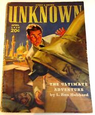 Street & Smith's Unknown – US pulp – April 1939 - Vol.1 No.2 - L.Ron Hubbard