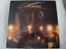 CAM FLORIA'S CONTINENTALS CONTINENTAL COUNTRY VINYL LP 1982 SPARROW RECORDS EX
