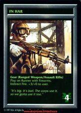 Shadowrun Ccg - FN Har - Gear / Base Set Eng