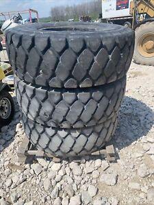 17.5R25 tires Bridgestone set of 3