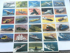 28 DIFFERENT CARDS WORLD OF SPEED   BY WILLS (1981)