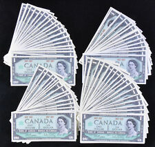 1967 CANADA $1 DOLLAR Banknotes - NO SERIAL Numbers - LOT OF 90