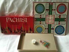 Pachisi A Game of India for the Whole Family Board Game 1962 Vintage