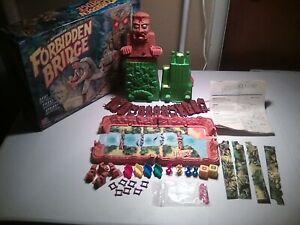 Forbidden Bridge Milton Bradley 1992 board game complete w/box..........