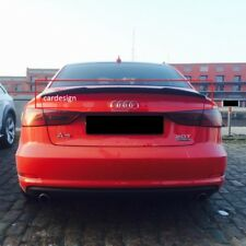 AUDI A3 8V FROM 2013 SALOON / SEDAN 4 PORTE S3 STILE SPOILER POSTERIORE NEW