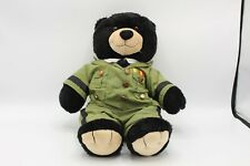 "Collectible Military Plush Stuffed Bear U.S Army 15"" Teddy Bear  Guardian"