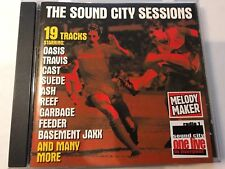 MELODY MAKER SOUND CITY SESSIONS CD 1999 OASIS TRAVIS SUEDE ASH CAST COLDPLAY