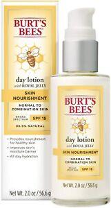 Burt's Bees Skin Nourishment Day Lotion with SPF15 2 oz / 56.6g 10/2021