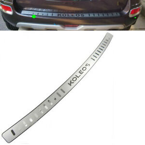 For Renault Koleos Accessories Car Door Sill Cover Rear Bumper Protector 09-2015